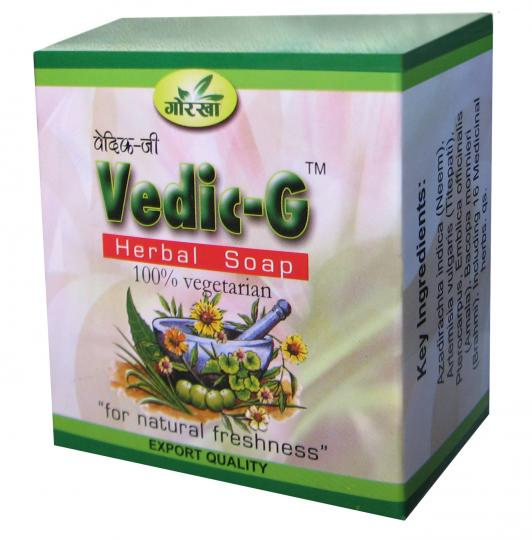 VEDIC-G (100% vegeterian soap)